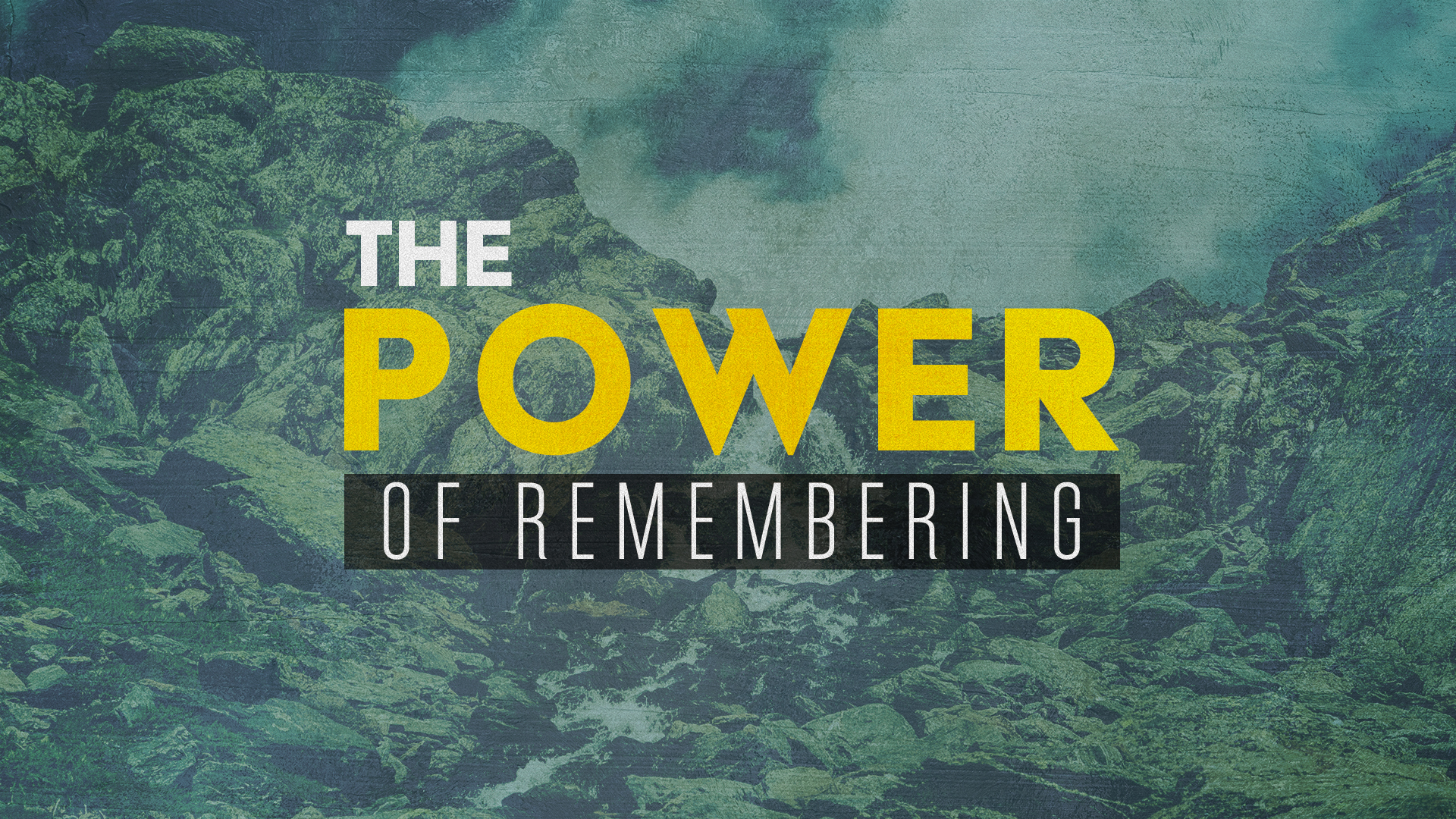 power-of-remembering